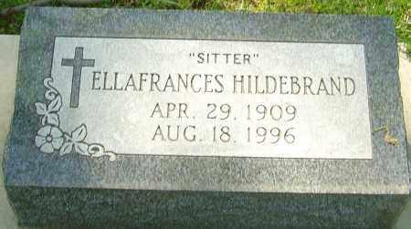 """HILDEBRAND, ELLAFRANCES  """"SITTER"""" - Montgomery County, Ohio   ELLAFRANCES  """"SITTER"""" HILDEBRAND - Ohio Gravestone Photos"""