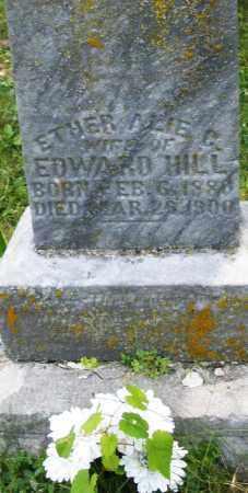 HILL, ETHER ALIE C. - Montgomery County, Ohio | ETHER ALIE C. HILL - Ohio Gravestone Photos