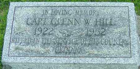 HILL, GLENN W - Montgomery County, Ohio | GLENN W HILL - Ohio Gravestone Photos