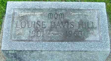 DAVIS HILL, LOUISE - Montgomery County, Ohio | LOUISE DAVIS HILL - Ohio Gravestone Photos