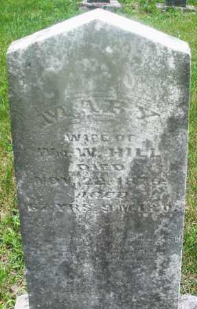 HILL, MARY - Montgomery County, Ohio | MARY HILL - Ohio Gravestone Photos