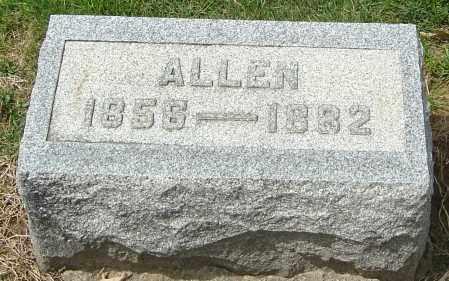 HILLAN, ALLEN - Montgomery County, Ohio | ALLEN HILLAN - Ohio Gravestone Photos