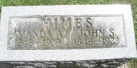 HIMES, JOHN S. - Montgomery County, Ohio | JOHN S. HIMES - Ohio Gravestone Photos