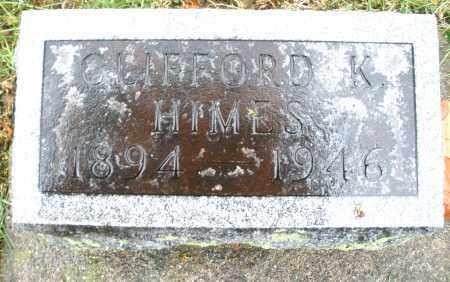 HIMES, CLIFFORD K. - Montgomery County, Ohio | CLIFFORD K. HIMES - Ohio Gravestone Photos