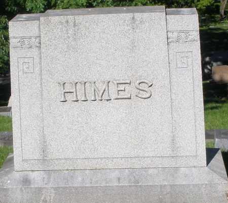 HIMES, MONUMENT - Montgomery County, Ohio   MONUMENT HIMES - Ohio Gravestone Photos