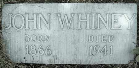 HINEY, JOHN W. - Montgomery County, Ohio | JOHN W. HINEY - Ohio Gravestone Photos