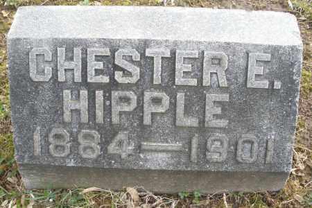 HIPPLE, CHESTER E. - Montgomery County, Ohio | CHESTER E. HIPPLE - Ohio Gravestone Photos