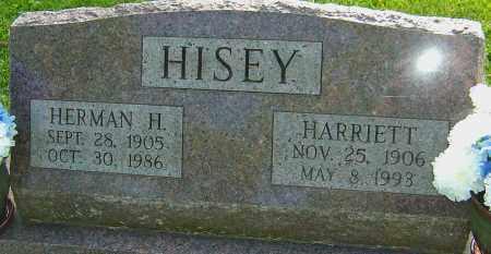 HISEY, HARRIETT - Montgomery County, Ohio   HARRIETT HISEY - Ohio Gravestone Photos