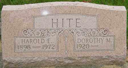 HITE, DOROTHY - Montgomery County, Ohio   DOROTHY HITE - Ohio Gravestone Photos