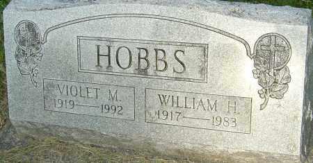 HOBBS, WILLIAM H - Montgomery County, Ohio | WILLIAM H HOBBS - Ohio Gravestone Photos