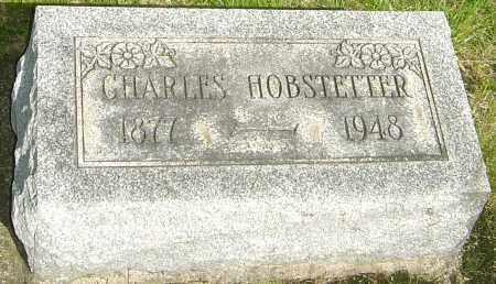 HOBSTETTER, CHARLES - Montgomery County, Ohio   CHARLES HOBSTETTER - Ohio Gravestone Photos
