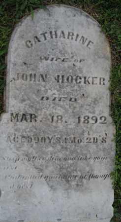 HOCKER, CATHARINE - Montgomery County, Ohio | CATHARINE HOCKER - Ohio Gravestone Photos