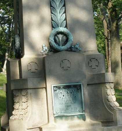HOEFER, HENRY - Montgomery County, Ohio | HENRY HOEFER - Ohio Gravestone Photos