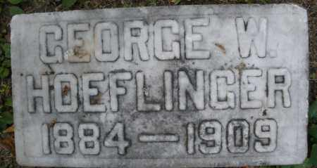 HOEFLINGER, GEORGE W. - Montgomery County, Ohio | GEORGE W. HOEFLINGER - Ohio Gravestone Photos