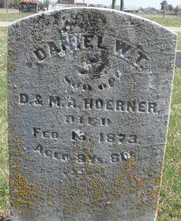 HOERNER, DANIEL W. T. - Montgomery County, Ohio | DANIEL W. T. HOERNER - Ohio Gravestone Photos