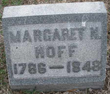 HOFF, MARGARET N. - Montgomery County, Ohio | MARGARET N. HOFF - Ohio Gravestone Photos