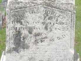 HOHLER, THOMAS - Montgomery County, Ohio | THOMAS HOHLER - Ohio Gravestone Photos