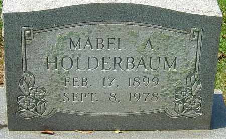 HOLDERBAUM, MABEL A - Montgomery County, Ohio | MABEL A HOLDERBAUM - Ohio Gravestone Photos