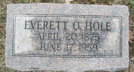 HOLE, EVERETT O. - Montgomery County, Ohio | EVERETT O. HOLE - Ohio Gravestone Photos