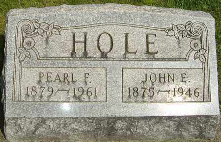 HOLE, PEARL F - Montgomery County, Ohio | PEARL F HOLE - Ohio Gravestone Photos