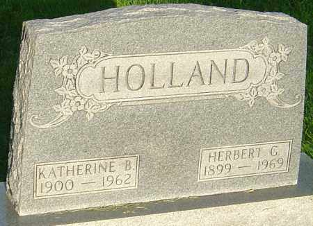 HOLLAND, HERBERT G - Montgomery County, Ohio | HERBERT G HOLLAND - Ohio Gravestone Photos