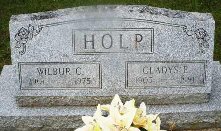 HOLP, GLADYS E. - Montgomery County, Ohio   GLADYS E. HOLP - Ohio Gravestone Photos