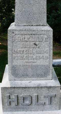 HOLT, PHILEMON - Montgomery County, Ohio   PHILEMON HOLT - Ohio Gravestone Photos