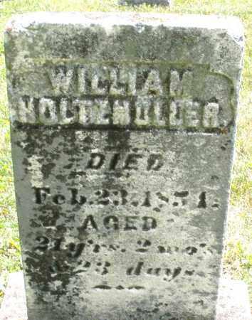 HOLTZMULLER, WILLIAM - Montgomery County, Ohio | WILLIAM HOLTZMULLER - Ohio Gravestone Photos