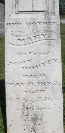 HOOVEN, MARY - Montgomery County, Ohio | MARY HOOVEN - Ohio Gravestone Photos