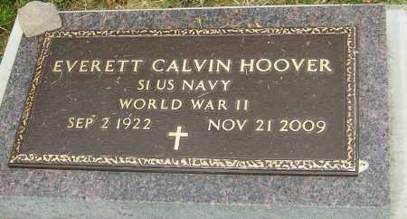 HOOVER, EVERETT CALVIN - Montgomery County, Ohio | EVERETT CALVIN HOOVER - Ohio Gravestone Photos