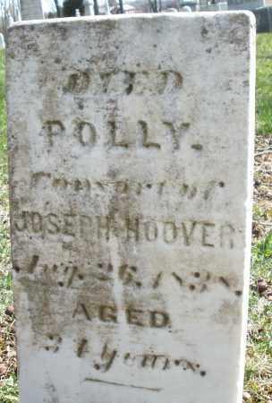 HOOVER, POLLY - Montgomery County, Ohio | POLLY HOOVER - Ohio Gravestone Photos