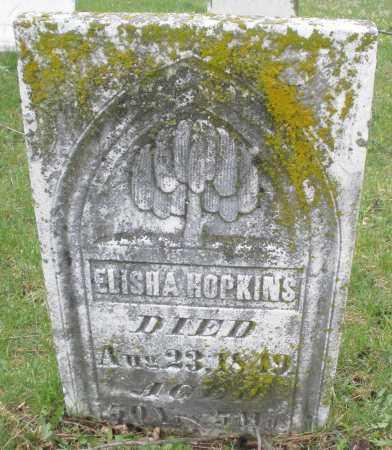 HOPKINS, ELISHA - Montgomery County, Ohio   ELISHA HOPKINS - Ohio Gravestone Photos