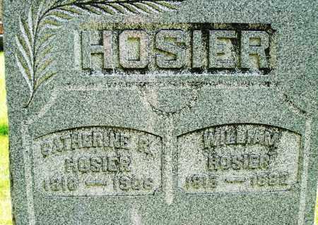 HOSIER, WILLIAM - Montgomery County, Ohio   WILLIAM HOSIER - Ohio Gravestone Photos