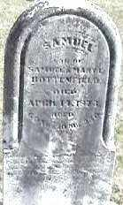 HOTTERFIELD, SAMUEL - Montgomery County, Ohio | SAMUEL HOTTERFIELD - Ohio Gravestone Photos