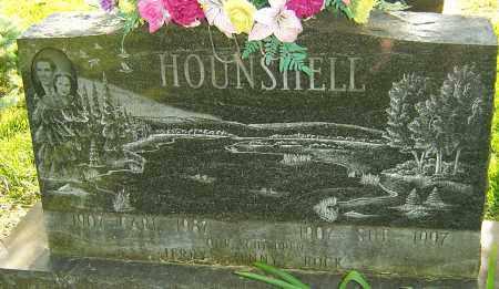 HOUNSHELL, CARL - Montgomery County, Ohio | CARL HOUNSHELL - Ohio Gravestone Photos