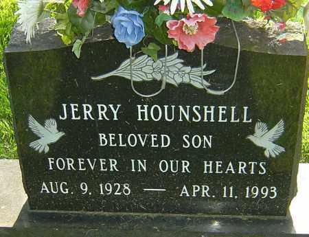 HOUNSHELL, JERRY - Montgomery County, Ohio   JERRY HOUNSHELL - Ohio Gravestone Photos
