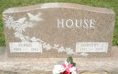 HOUSE, VERBIE - Montgomery County, Ohio | VERBIE HOUSE - Ohio Gravestone Photos