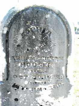 HOUSER, SOPHIA - Montgomery County, Ohio   SOPHIA HOUSER - Ohio Gravestone Photos