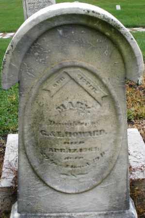 HOWARD, MARY - Montgomery County, Ohio | MARY HOWARD - Ohio Gravestone Photos