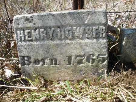 HOWSER, HENRY - Montgomery County, Ohio | HENRY HOWSER - Ohio Gravestone Photos