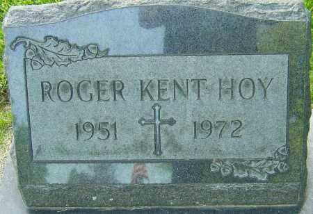 HOY, ROGER KENT - Montgomery County, Ohio | ROGER KENT HOY - Ohio Gravestone Photos