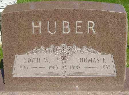 HUBER, THOMAS E - Montgomery County, Ohio | THOMAS E HUBER - Ohio Gravestone Photos