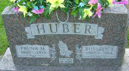 HUBER, RUSSELL A - Montgomery County, Ohio | RUSSELL A HUBER - Ohio Gravestone Photos
