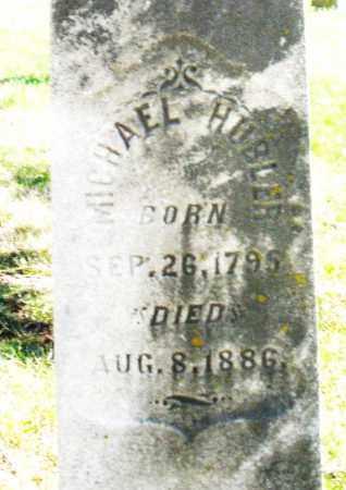 HUBLER, MICHAEL - Montgomery County, Ohio | MICHAEL HUBLER - Ohio Gravestone Photos