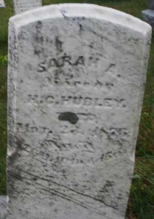 HUBLEY, SARAH A. - Montgomery County, Ohio   SARAH A. HUBLEY - Ohio Gravestone Photos