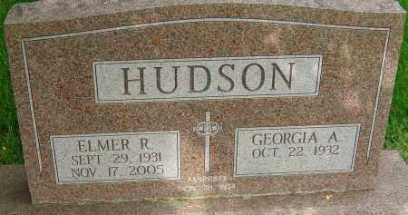 HUDSON, ELMER R - Montgomery County, Ohio   ELMER R HUDSON - Ohio Gravestone Photos