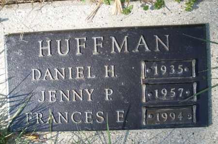 HUFFMAN, JENNY P. - Montgomery County, Ohio | JENNY P. HUFFMAN - Ohio Gravestone Photos