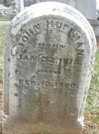 HUFFMAN, JOHN - Montgomery County, Ohio | JOHN HUFFMAN - Ohio Gravestone Photos