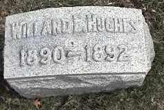 HUGHES, WILLARD - Montgomery County, Ohio | WILLARD HUGHES - Ohio Gravestone Photos