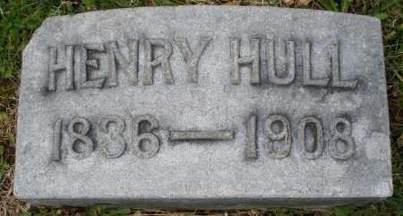 HULL, HENRY - Montgomery County, Ohio | HENRY HULL - Ohio Gravestone Photos